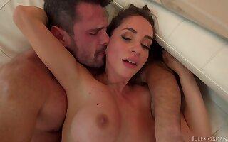 gaffer Malena impassioned hot sex film over