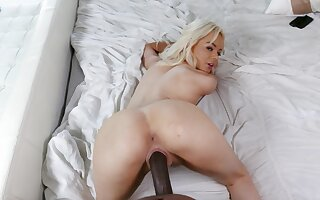 Marvelous woman rides and sucks cock like a dirty whore