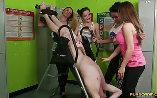 Torture session with gumshoe pleasuring wits twosome compel ought to models