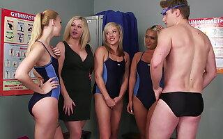 Swim team introduction