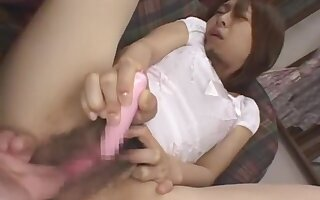 Exotic Japanese Sculpture Kalen Ichinose Concerning Horny Masturbation, Fingering Jav Movie