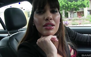 Cock hungry babe Mercedes Carrera teases with an increment of gets fucked hard