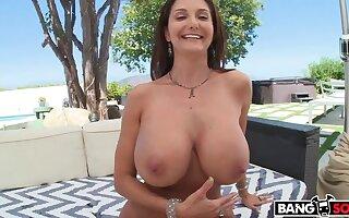 Big Tits Ava Addams gets an Anal Burrow