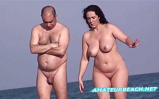 Amateur Nudist Beach Voyeur - Compilation Series Vol. 4